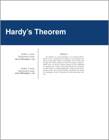 French thesis template latex